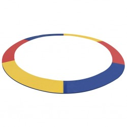 stradeXL Osłona na sprężyny trampoliny okrągłej 4,26 m, PVC, kolorowa