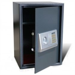 Elektroniczny sejf cyfrowy z półką 35 x 31 x 50 cm