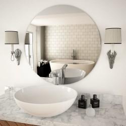 stradeXL Wall Mirror 70 cm Round Glass