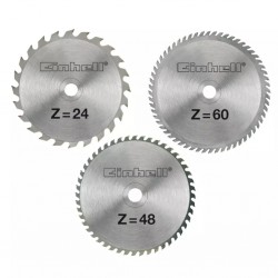 Einhell Tarcze tnące, zestaw, HM, 210 x 30 x 2,5 mm, AK