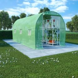stradeXL Greenhouse 9 m² 4.5x2x2 m