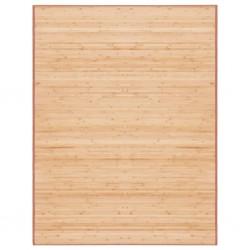 stradeXL Mata bambusowa na podłogę, 150 x 200 cm, brązowa