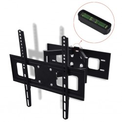 "stradeXL Double-armed Tilt & Swivel Wall Mounted TV Bracket 3D 400x400mm 32""-55"""