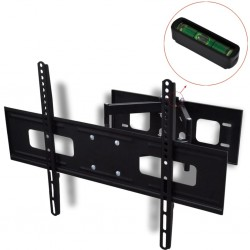 "stradeXL Double-armed Tilt & Swivel Wall Mounted TV Bracket 3D 600x400mm 37""-70"""