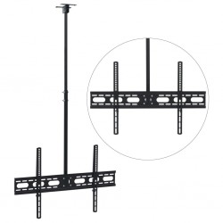 "stradeXL Ceiling Mounted TV Bracket 37""-70"" Height Adjustable"