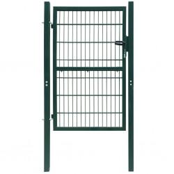 2D Bramka ogrodowa pojedyncza Zielona 106 x 170 cm