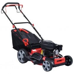 stradeXL 4-in-1 Petrol Lawn Mower Steel 46 cm 3.4 HP