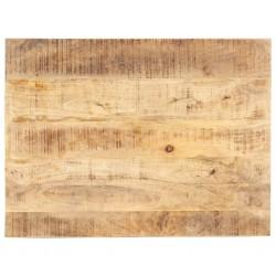 stradeXL Blat stołu, lite drewno mango, 15-16 mm, 90x70 cm