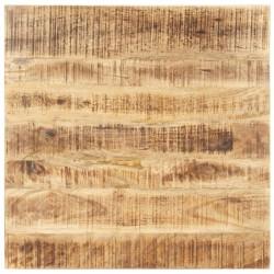 stradeXL Blat stołu, lite drewno mango, 15-16 mm, 80x80 cm