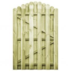 stradeXL Furtka z łukiem, impregnowane drewno sosnowe, 100 x 150 cm