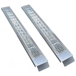 stradeXL Stalowe rampy przeładunkowe, 2 szt., 450 kg