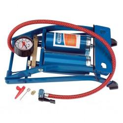 Draper Tools Pompka nożna dwutłokowa, niebieska, 25996