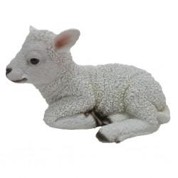 Esschert Design Figurka leżącej owieczki, 17,6 x 10,8 x 10,5 cm