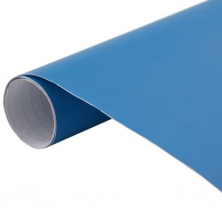 stradeXL Folia samochodowa, matowa, niebieska, 200x152 cm