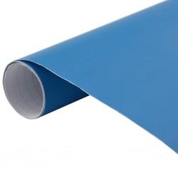 stradeXL Folia samochodowa, matowa, niebieska, 500x152 cm