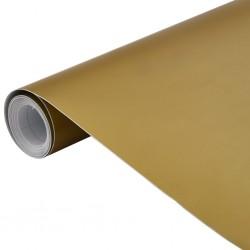 stradeXL Folia samochodowa, matowa, złota, 200x152 cm