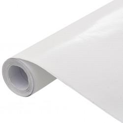stradeXL Folia samochodowa, matowa, 4D, biała, 200x152 cm