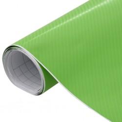 stradeXL Folia samochodowa, matowa, 4D, zielona, 200x152 cm