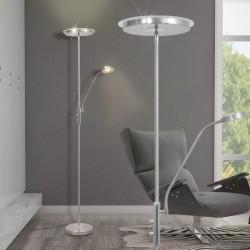stradeXL Lampa podłogowa przyciemnana LED 23 W