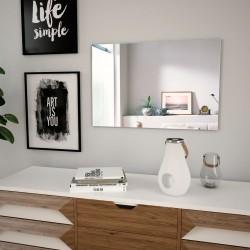 stradeXL Wall Mirror 60x40 cm Rectangular Glass