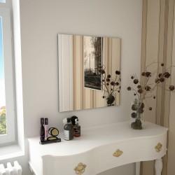 stradeXL Wall Mirror 60x60 cm Square Glass