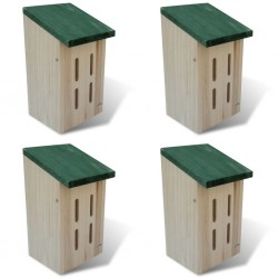 Butterfly House 14 x 15 x 22 cm Set of 4