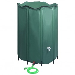 stradeXL Collapsible Rain Water Tank with Spigot 1500 L
