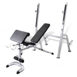 Wielofunkcyjna ławeczka do ćwiczeń.