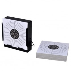 Tarcza strzelecka 14cm + tarcze papierowe x 100