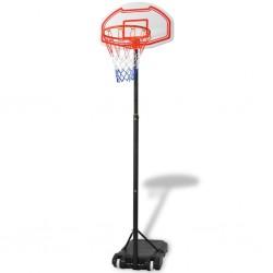 stradeXL Zestaw do koszykówki, przenośny, 250 cm