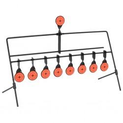stradeXL Cele strzelnicze, obrotowe, automatyczny reset, 8+1