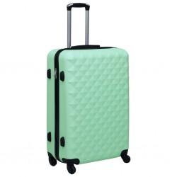 stradeXL Twarda walizka na kółkach, miętowa, ABS
