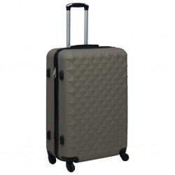 stradeXL Twarda walizka na kółkach, antracytowa, ABS