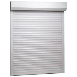 stradeXL Roleta zewnętrzna, aluminiowa, 70 x 100 cm, biała
