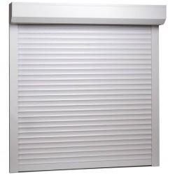 stradeXL Roleta zewnętrzna, aluminiowa, 100 x 100 cm, biała