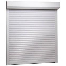 stradeXL Roleta zewnętrzna, aluminiowa, 100 x 120 cm, biała