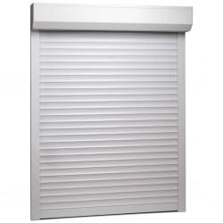 stradeXL Roleta zewnętrzna, aluminiowa, 120 x 150 cm, biała