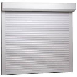 stradeXL Roleta zewnętrzna, aluminiowa, 160 x 150 cm, biała