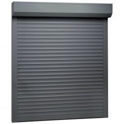 stradeXL Roleta zewnętrzna, aluminiowa, 80 x 100 cm, antracytowa