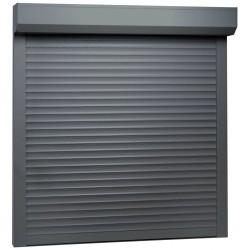stradeXL Roleta zewnętrzna, aluminiowa, 100 x 100 cm, antracytowa