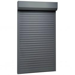 stradeXL Roleta zewnętrzna, aluminiowa, 100 x 210 cm, antracytowa
