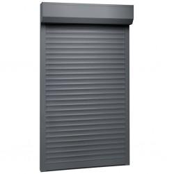 stradeXL Roleta zewnętrzna, aluminiowa, 110 x 220 cm, antracytowa