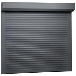 stradeXL Roleta zewnętrzna, aluminiowa, 160 x 150 cm, antracytowa