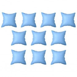 stradeXL Inflatable Winter Air Pillows for Above-Ground Pool Cover 10 pcs PVC