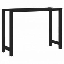 stradeXL Nogi do stołu, rama w kształcie H, 100 x 40 x 72 cm