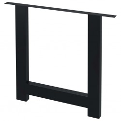 stradeXL Nogi do stołu, 2 szt., kształt litery H, 80x72 cm