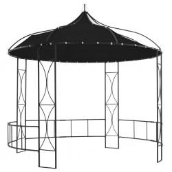 stradeXL Altana, 300 x 290 cm, antracytowa, okrągła