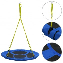 stradeXL Swing 110 cm 100 kg Blue