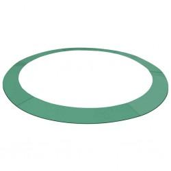 stradeXL Osłona sprężyn PE do okrągłych trampolin 10 ft/3,05 m, zielona