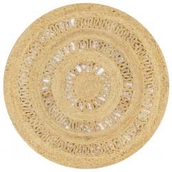 stradeXL Dywan ręcznie wypleciony z juty, 90 cm